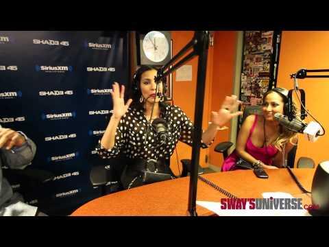 Julissa Bermudez & Adrienne Bailon Speak on the Men They Like Dating on #SwayInTheMorning