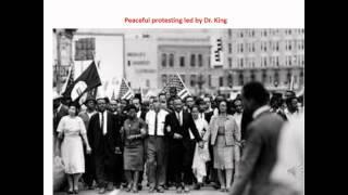 1960's Civil Rights Movement Protest