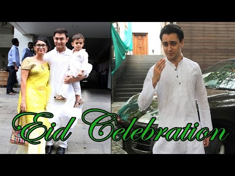 Aamir Khan Celebrating Eid With His Old Friends !!