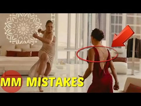 11 Biggest Mistakes In The Popular Fast And Furious 7 Movie | Fast And Furious 7 Movie Mistakes