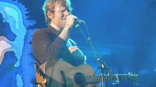 Ed Sheeran - Kiss Me & Tenerife Sea - X Tour - France - Clermont Ferrand - 01/02/2015