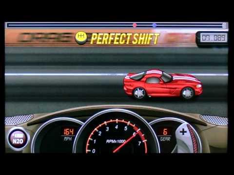 Drag Racing 8.720 TUNE level 6 1/4 Dodge Viper SRT10