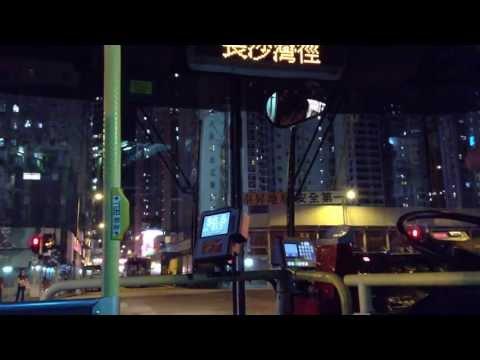 KMB Scania N113 @ 72 特見 - 沙田至長沙灣 行車片段