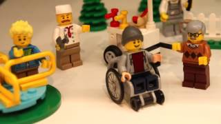 LEGO reveals first official set with a boy in a wheelchair (60134)
