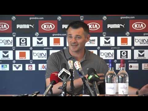 Point Presse de Willy Sagnol avant Monaco