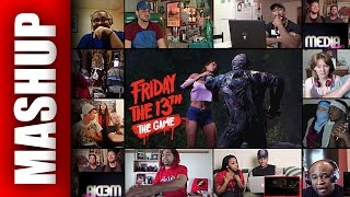 FRIDAY THE 13TH: THE GAME Gameplay Reactions Mashup