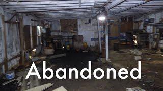 Exploring an Abandoned Mini Cooper Car Garage in Warehouses