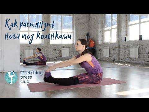 Как растянуть ноги под коленками: подколенные мышцы и сухожилия от Stretching Press Club