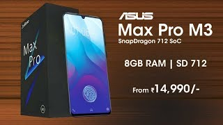 Asus Zenfone Max Pro M3 - Specifications, Price, Launch Date In India | Asus Zenfone Max Pro M3
