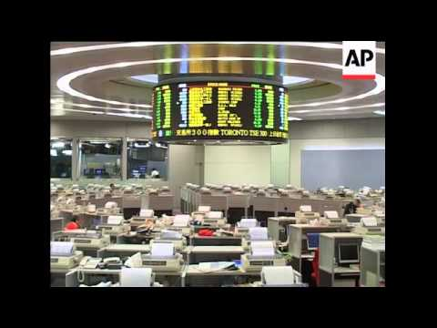 Asian stock markets down in morning session; Tokyo, Hong Kong