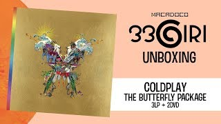 """33GIRI Unboxing - """"Coldplay - The Butterfly Package (3LP + 2DVD)"""""""