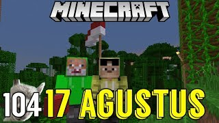 MEMBUAT BENDERA INDONESIA MINECRAFT - SURVIVAL SERIES #104