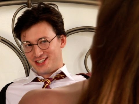 Harry Potter And The Steamy Slow Jam!  Key Of Awesome #44 video