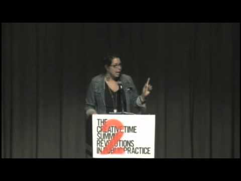 Anne Pasternak Introduces The Leonore Annenberg Prize at the Creative Time Summit 2010