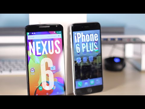 Google Nexus 6 vs iPhone 6 Plus - Speed and Benchmarks