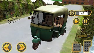 Real Tuk Tuk Auto Driver : Offroad Uphill Rickshaw Transport Game | Tuk Tuk Auto Rickshaw Game