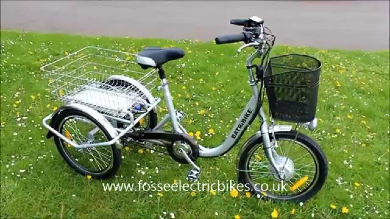 3 Wheel Bikes For Seniors wheeler electric trike