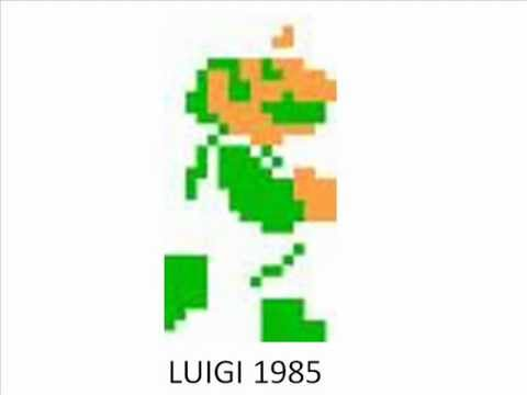 Evolution of Luigi Luigi Evolution