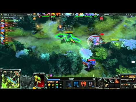 Fnatic vs  LGD int LB Round 2B 1 of 1  English Commentary