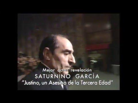Saturnino García inaugura el Goya a Mejor Actor Revelación en 1995