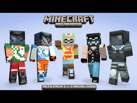 Minecraft Xbox 360: Skin Pack 1 | Full List | Confirmed July 16 w/ Herobrine