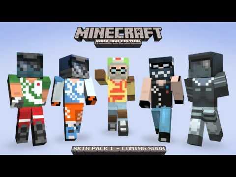 Minecraft Xbox 360 Skin Pack
