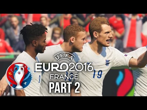 Euro 2016 Gameplay Walkthrough Part 2 - ENGLAND VS WALES (PES 2016 UEFA EURO 2016)