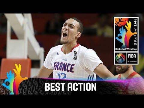 France v Spain - Best Action - 2014 FIBA Basketball World Cup