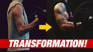 Body Transformation: Jeff Cavaliere (MY STORY)