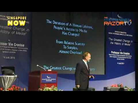 News clip of Singapore 2010 Media lecture.mpg