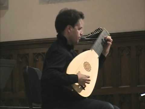 Magnus Andersson plays Charles Mouton on baroque lute