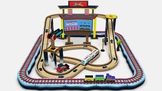Choo Choo Train - Toy Factory  Train - Cartoon Cartoon - Trains for Kids