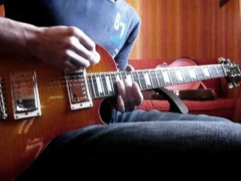 The Eagles - Hotel California Outro Solo cover