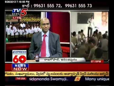 IPS Praveen Kumar - TV5 Interview-26-6-2013
