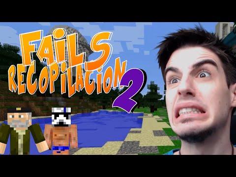 FAILS RECOPILACIÓN #2 - Juegos del Hambre Minecraft con Willy