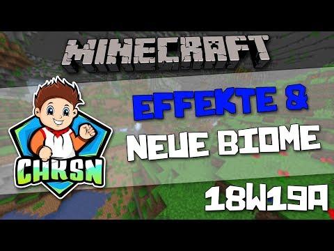 Neue Bücher, Höhlen und Effekte - Minecraft 1.13 Snapshot 18w19a