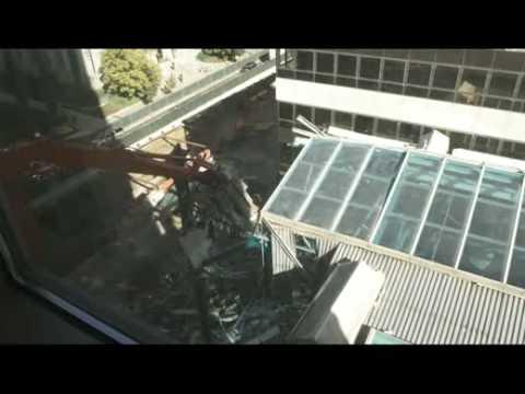 ZCMI Center Food Court Demolition - Part 1
