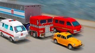Transformers MasterPiece Optimus Prime Bumblebee Ratchet Ironhide Vehicle Car Transform Robot Toys