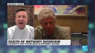 Chef Daniel Boulud remembers Anthony Bourdain