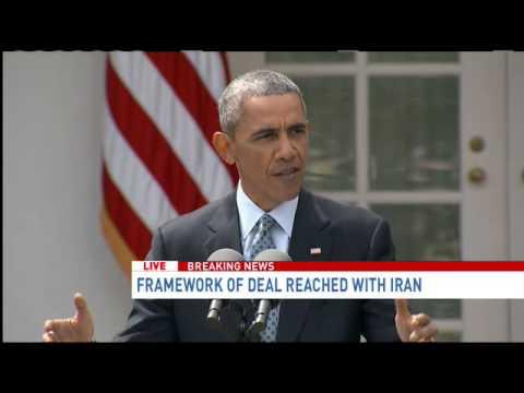 President Obama announces Iran nuke deal reached