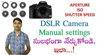 Photography Tutorial For Beginners: What Is Aperture, Shutter Speed, ISO In Telugu