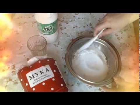 Как приготовить соленое тесто - видео