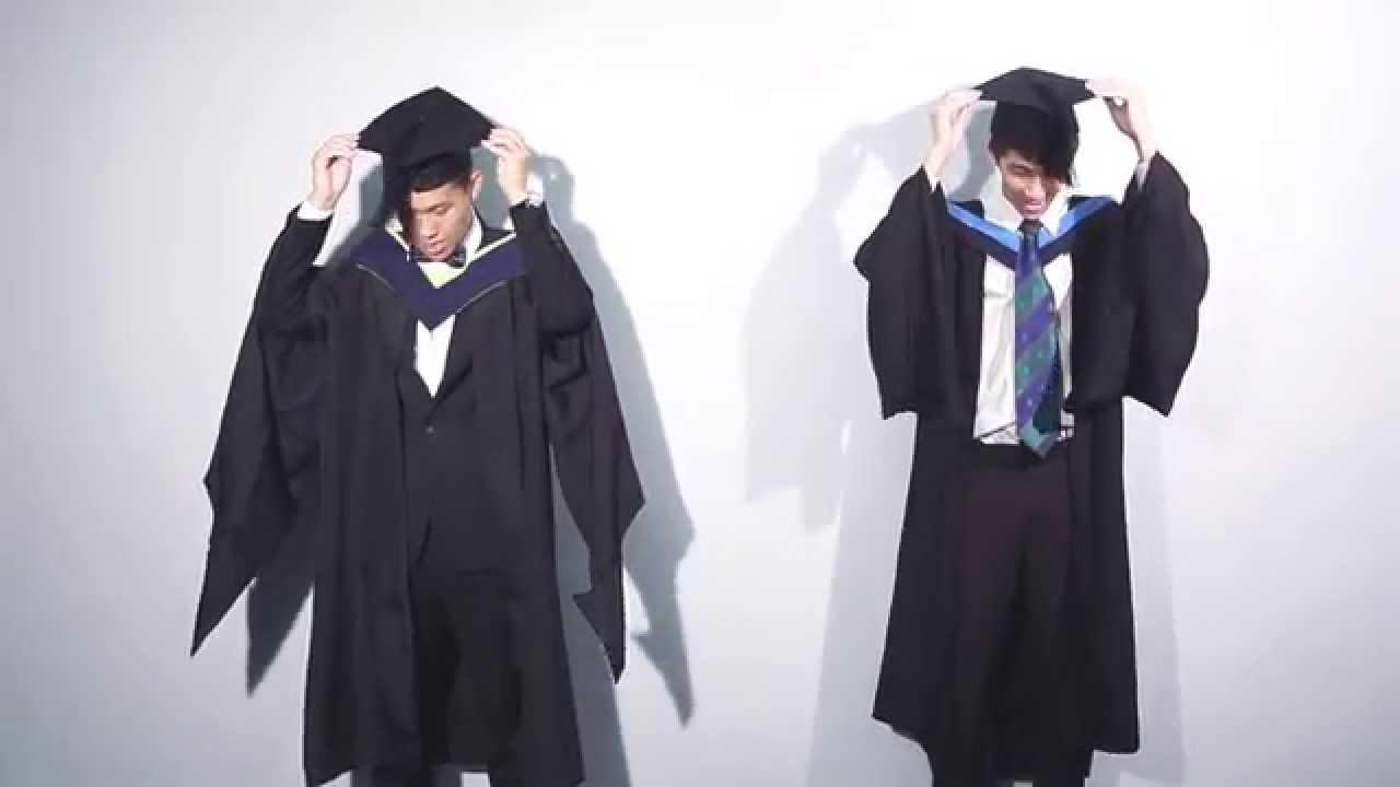Academic Dress For Graduation Gentlemen Version Youtube