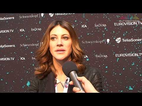 Interview Hannah - Slovenia (Eurovision 2013 - Malm)