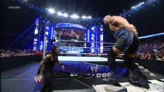 Big Show and The Shield battle it out WWE SmackDown, Sept 13, 2013