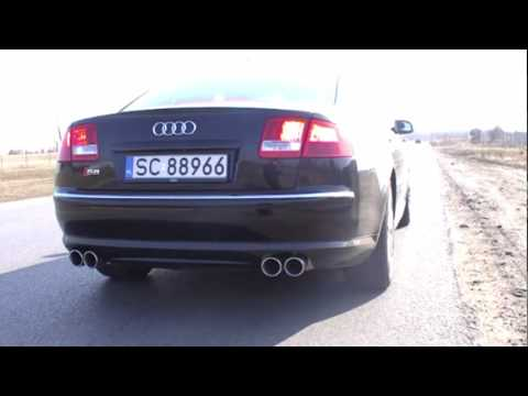 Audi S8 5.2 V10 Cat Back Milltek by Best Performance