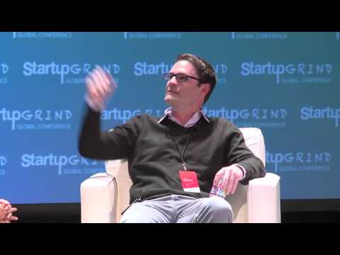 Mary Grove (GFE) and Don Harrison (Google) at Startup Grind Global 2016