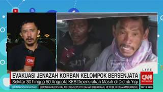 Evakuasi Jenazah Korban Kelompok Bersenjata di Papua