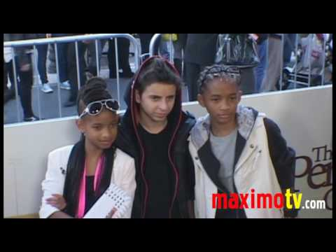 Jaden Smith (The Karate Kid) and Willow Smith at