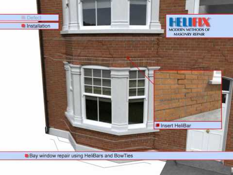 Bay Window Repair - Helifix Approved Installers